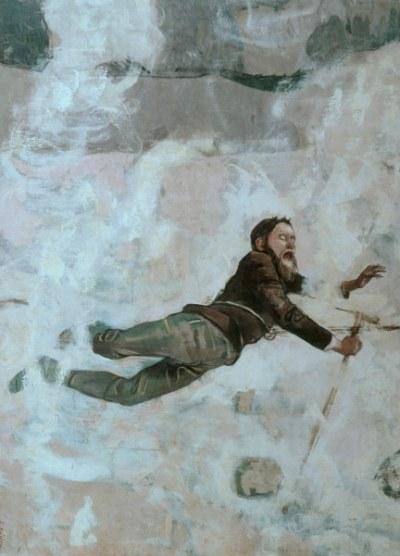 F.Hodler, Absturz III - Hodler / The Fall III / Painting / 1894 - F. Hodler / 'Absturz III' (Chute III), 1