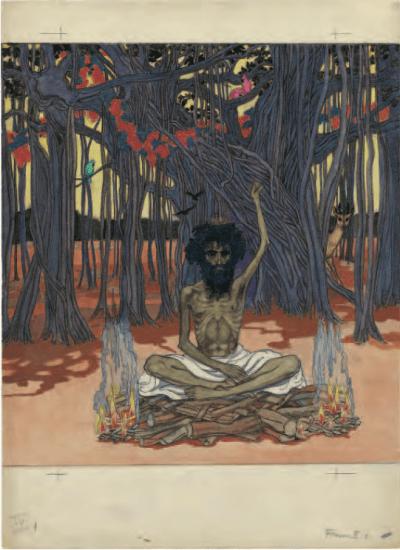 Jeanne Mammen - »Der Gymnosophist«