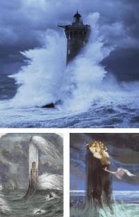 phares sous la tempête