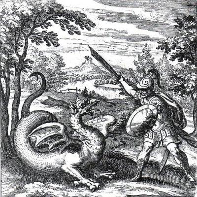 Lucas Jennis Bestiary Dragon