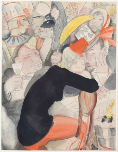 Jeanne Mammen, Untitled, c. 1930