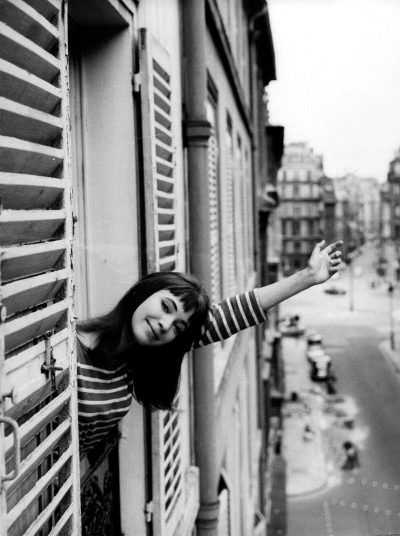 Anna Karina, Paris 1963 - photo Lennart-Green