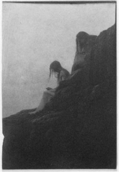 Anne Brigman - Souls of the weeping rock - 1910