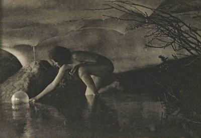 Anne Brigman - The Bubble - 1909