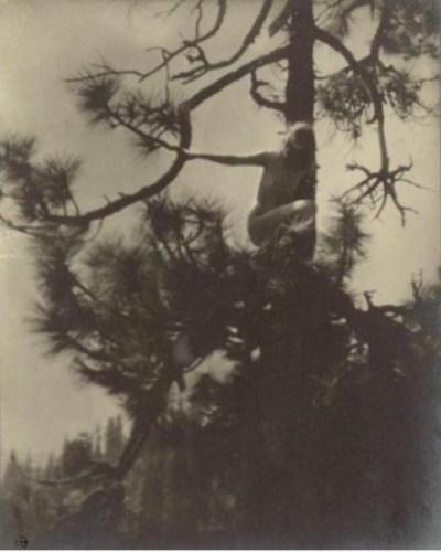 Anne Brigman - The-Dryad - 1905