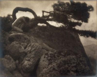 Anne Brigman - The Lone Pine - 1908