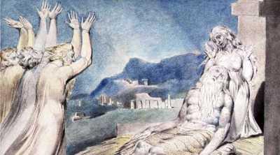 William Blake - les consolateurs de Job