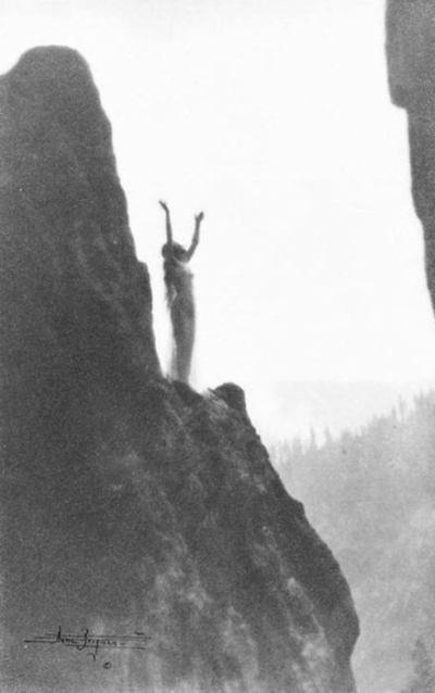 Anne Brigman - Incantation - 1905