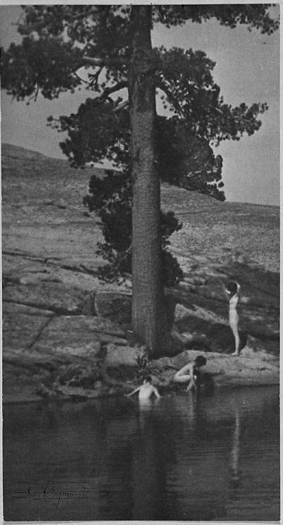 Anne Brigman - Pool - 1906
