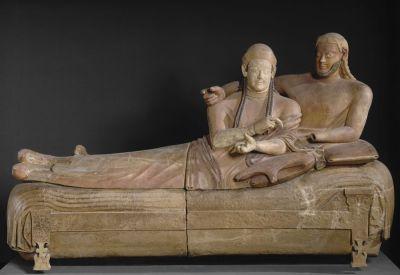 le sarcophage des époux