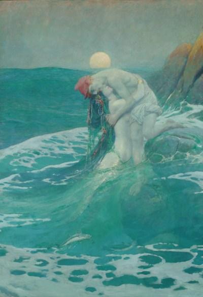 Howard Pyle - The Mermaid - 1910