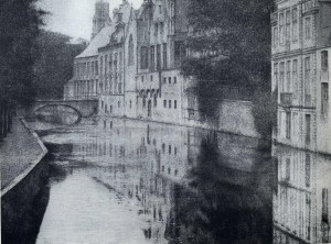 Fernand Khnopff - canal à Bruges