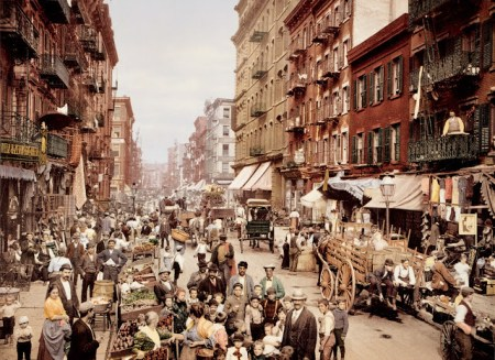 Mulberry Street by Anonymous, 1900
