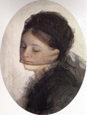 Anders Zorn - In Mourning, 1880