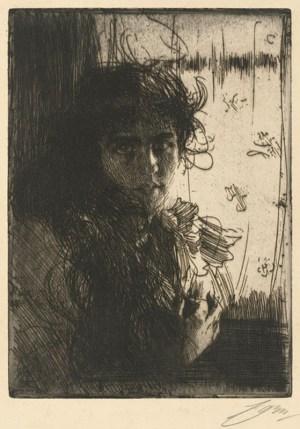 Anders Zorn, An Irish Girl, 1894
