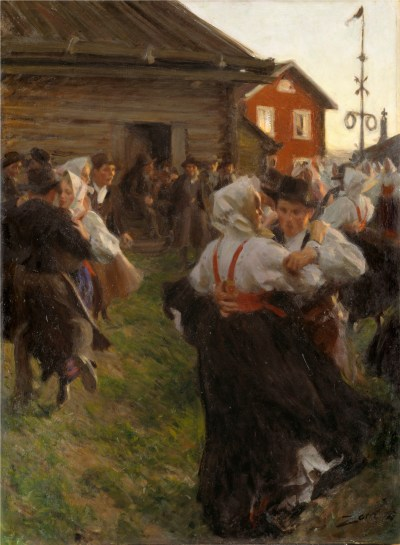 Anders Zorn - Fête de la Saint Jean, 1897