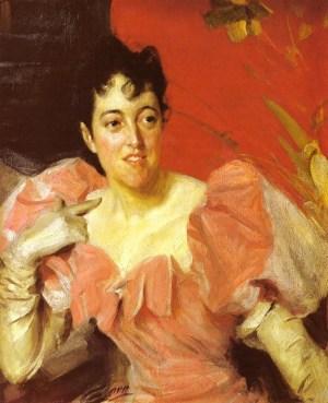 Anders Zorn - Mrs Walter Bacon, 1891
