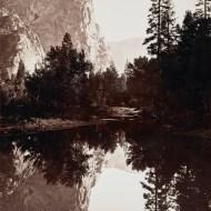 Carleton E. Watkins -Three Brothers, Yosemite - 1844-1916 (Google Art Project)
