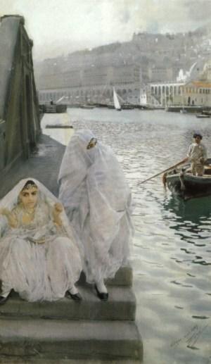 Anders Zorn - Alger, Hamman, 1887