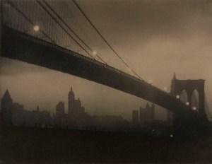 Karl Struss - Brooklyn Bridge – Nocturne, ca 1912-1913