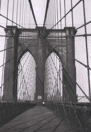 Walker Evans - Brooklyn Bridge, 1928-29