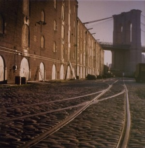 Walker Evans, North from Brooklyn Bridge, 1960