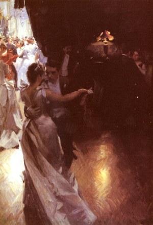 Anders Zorn - la valse, 1891