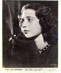 Kay Francis dans Comet Over Broadway en 1938