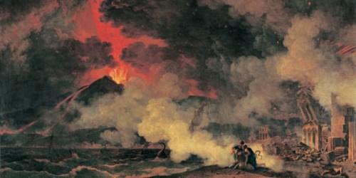 Pierre-Henri de Valenciennes - l'éruption du Vésuve, 1813