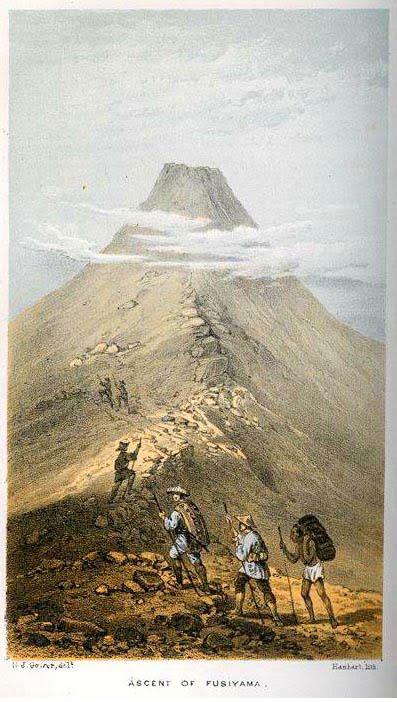 ascension du Fuji yama