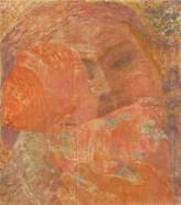 Derkovits Gyula - Mère, 1934