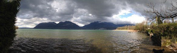 Lac d'Annecy, le Piron - mardi 8 avril 2014, vers 17 h 30 - IMG_2469