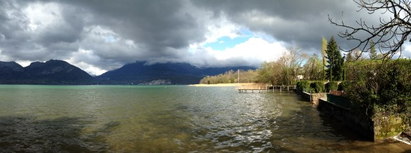 Lac d'Annecy, le Piron - mardi 8 avril 2014, vers 17 h 30 - IMG_2473