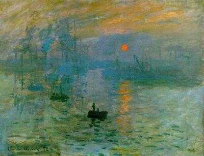 Claude Monet - Impression, soleil levant, 1872
