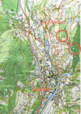 Brixen et ses 2 collines