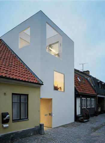 maison de ville en Suède- architecte Elding Oscarson, 2009