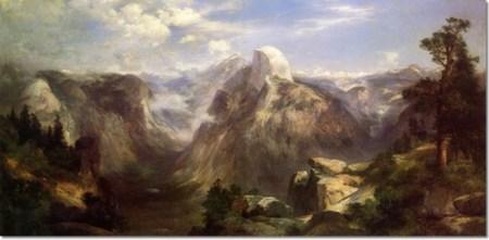 Thomas Moran - Domes of the Yosemite, 1904