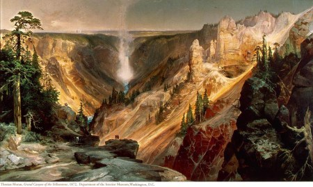 Thomas Moran - Grand Canyon of the Yellowstone, 1872