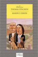 Mason et Dixon, couverture du roman de Thomas Pynchon