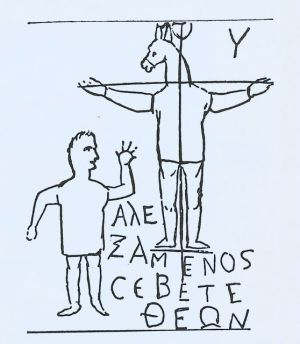 Rome - Alexamène adore Dieu