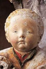 Notre Dame de Grasse - Musée des Augustins de Toulouse - l'enfant Jésus, vers 1460-1480