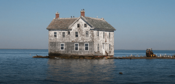 La dernière maison de Holland Island