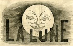 La lune - semaine comique illustrée