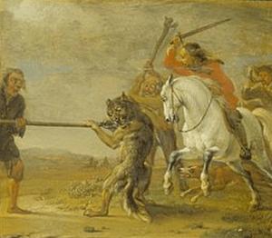 Paulus Potter - la punition du chasseur, scène 5