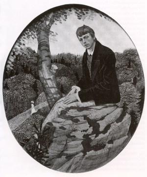 Karl Walser, Bildnis des Bruders, 1900