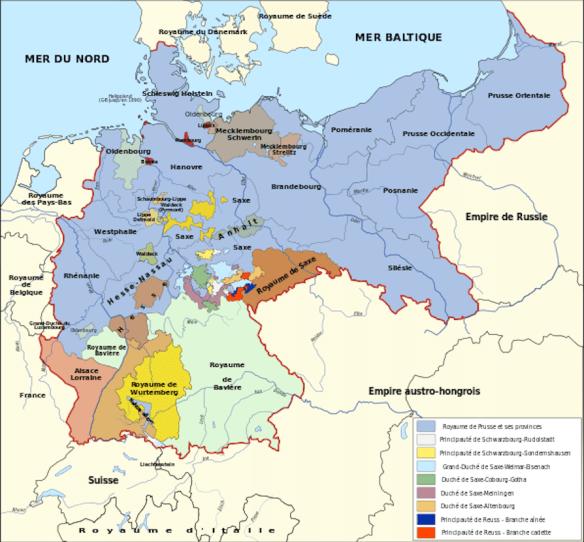 L'Empire allemand de 1871 à 1918