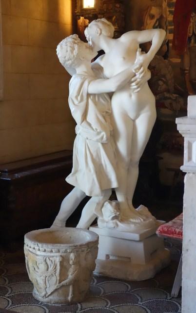 Pygmalion et Galatée - sculpture réalisée à partir du tableau de Jean Léon Gérôme