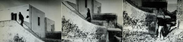 Tournage du film Stromboli Terra di Dio - Karen (Ingrid Bergman) monte l'escalier.png