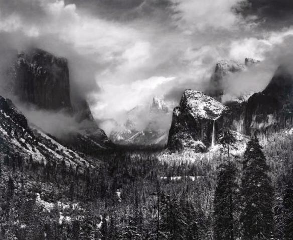 Ansel Adams, Clearing Winter Storm, Yosemite Valley, California, ca. 1937