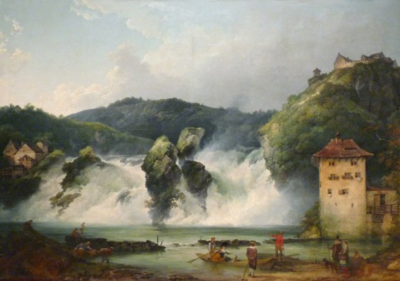 Loutherbourg-Les Chutes du Rhin à Schaffhausen, 1788